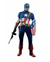 Captain America: Star Spangled Man Sixth Scale Figure SDCC 2013 Exclusive