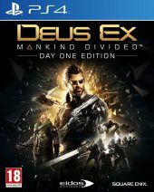 Deus Ex Mankind Divided - Day One Edition - PS4 igra