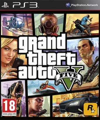 Grand Theft Auto V - GTA 5 - PS3 igra