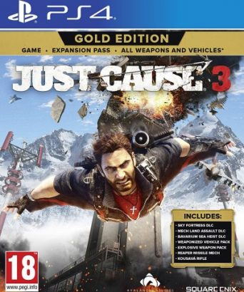 Just Cause 3 Gold Edition - PS4 igra
