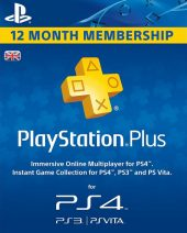 PSN Plus pretplata za PS4 i PS3 12 meseci - Playstation Plus Subscription 1 Year