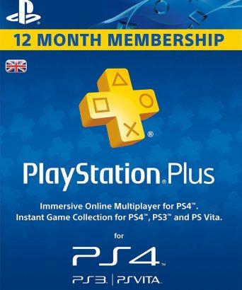 PSN Plus pretplata za PS4 i PS3 12 meseci - Playstation Plus Subscription 1 Year