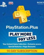 PSN Plus pretplata za PS4 i PS3 90 dana - Playstation Plus Subscription 3 Months