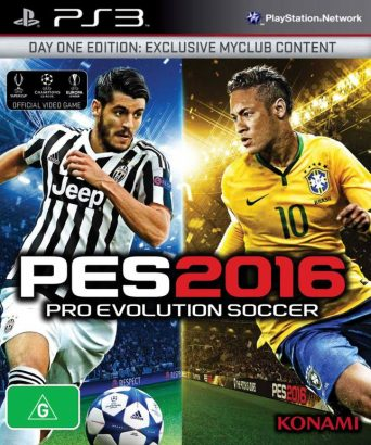 Pro Evolution Soccer 2016 - PES 2016 - PS3 igra