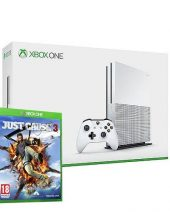 XBOX One SLIM konzola 500GB White + Just Cause 3