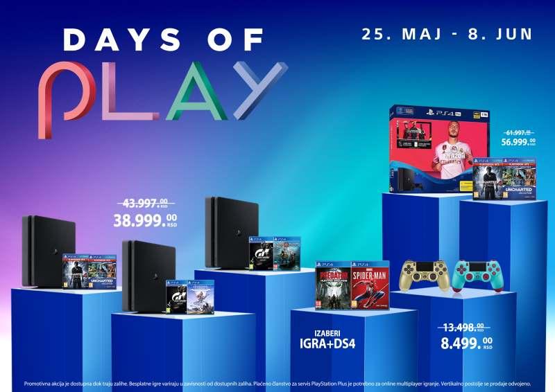 Akcija DAYS OF PLAY 2020 cena