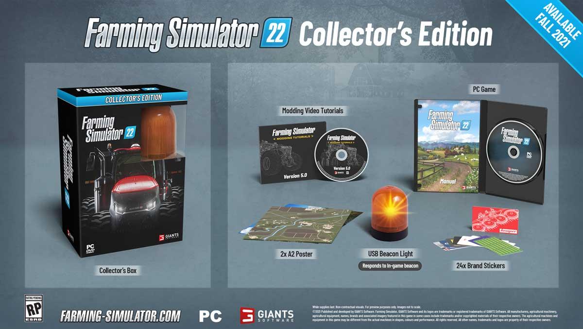 Farming Simulator 22 Collectors Edition Cena