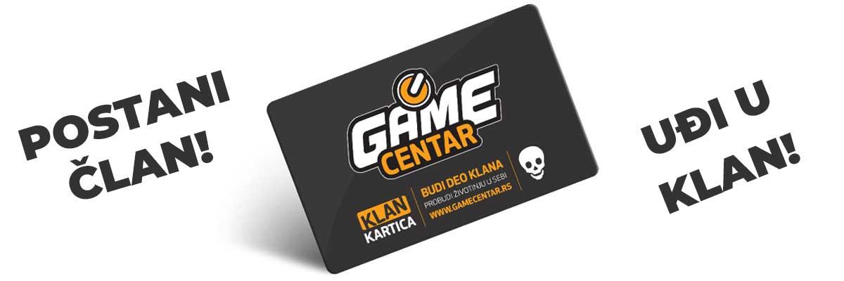 Logo GAME CENTAR KLAN prodaja igrica