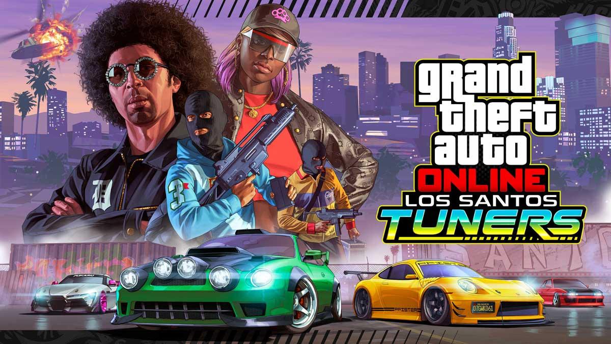 GTA Online Los Santos Tuners Cena
