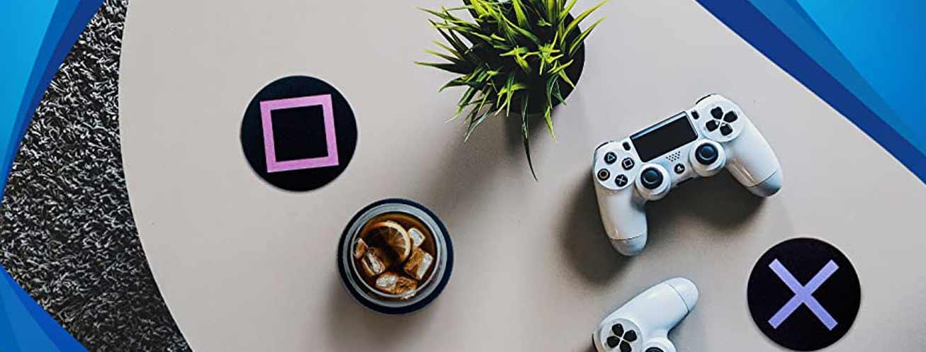 Podmetač Playstation Metal Coasters   GAME CENTAR
