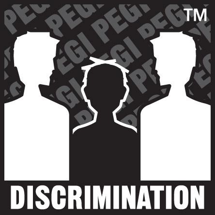 PEGI Oznaka Diskriminacija