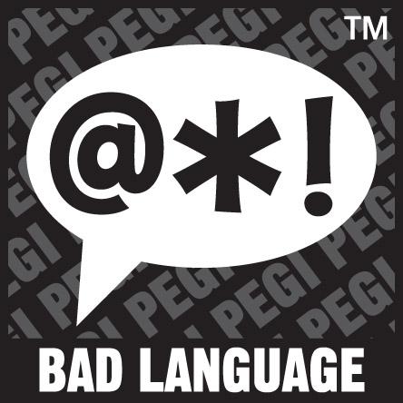 PEGI Oznaka Bad Language Psovke