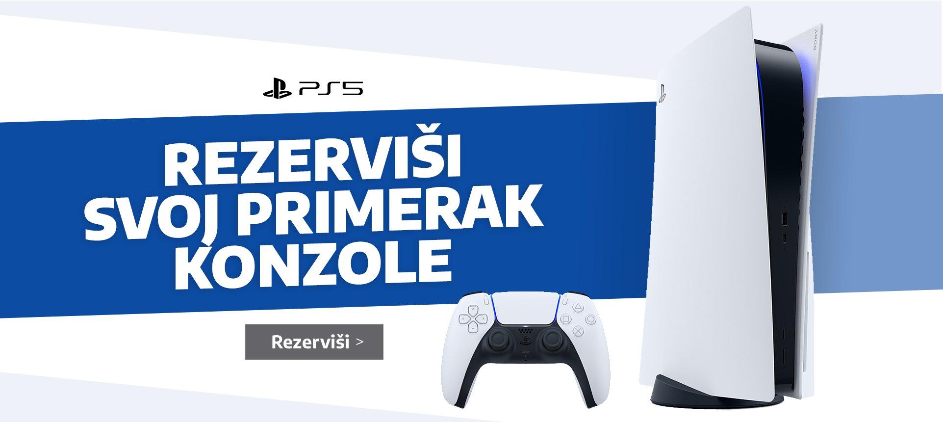 Sony PlayStation 5 Rezevacija
