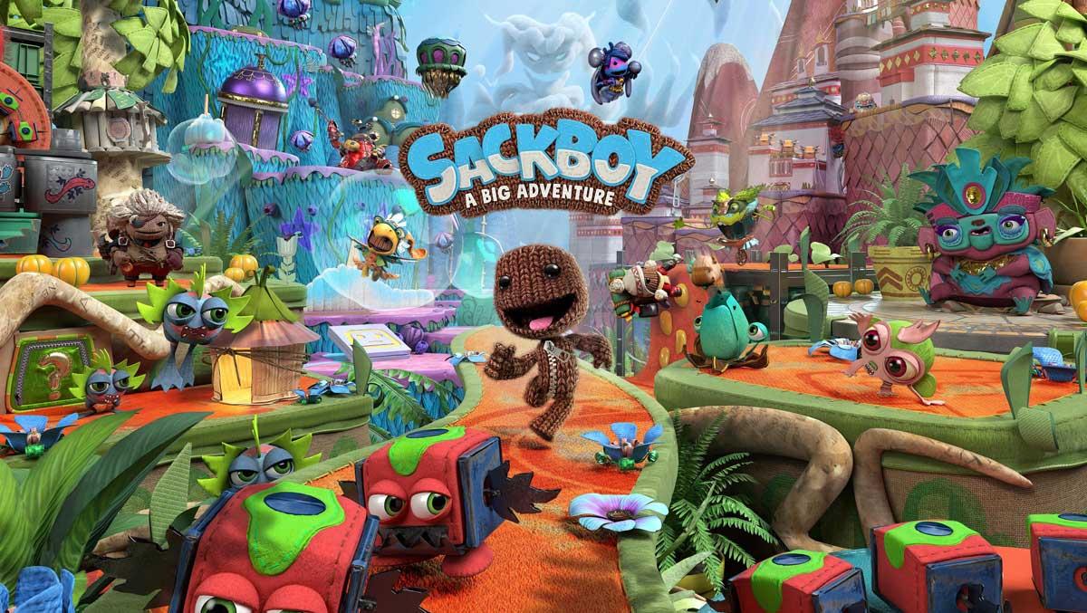 SackBoy PS5 Igra Cena